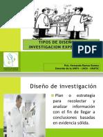 Tipos de Diseños de Investigacion Experimental