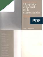 Briz Gomez Antonio El Español Coloquial en La Conversacion