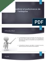 Capital Immatériel Et Performance de L'entreprise