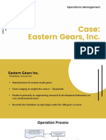 Eastern Gear Studi Kasus