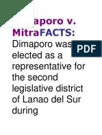 Dimaporo V
