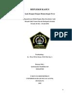 refleksi kasus Dengue Hemmorhagic Fever