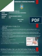Escritura Publica Ppt