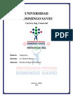 CARATULA Domingo Savio