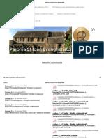 Cateheza - Parohia Sf Ioan Evanghelistul