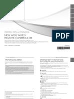 Wide Wired Remote Controller Premtb001