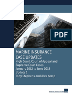 Marine Insurance Case Updates [A4 35pp] Jan - June 2012