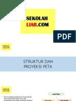 Struktur dan Proyeksi Peta