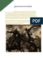 Armas de Guerreros en La Edad Media