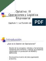 01.La Función de Operaciones.