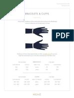 Mene Bracelets and Cuffs Size Guide