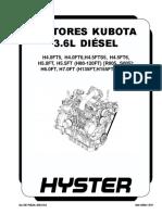Motores Kubota 3.6l Diésel