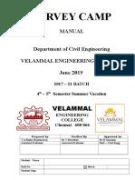 Survey Camp Manual 2019 JUNE
