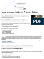 Treating Mood Disorders – Depression and Mood Disorder Treatment