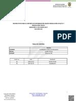 Instructivo Reporte Vih 2017