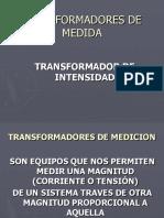 Transformadores de Medida