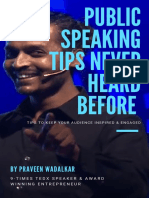 Public Speaking e Book May 2019