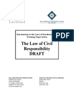 Civil Responsibility
