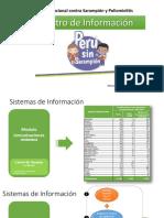Inmunizaciones 2019 Barrido Nacional Peruano