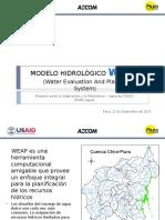 Modelo Hidrológico WEAP Chira-Piura.pptx