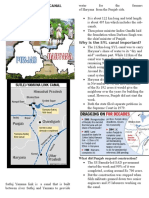 Sutlej Yamuna Link Canal Dispute Explained
