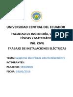 Cuaderno Electricas Segundo Hemi