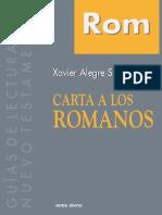 ALEGRE SANTAMARÍA, Xavier (2012), Carta a los Romanos, Navarra, España.pdf