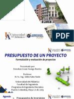 Presupuesto de Un Proyecto