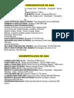 Records Hidrograficos Continentes