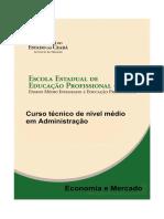 Apostila de Economia e Mercado.