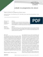 2- Impacto Da Obesidade No Prognóstico Do Câncer_2013