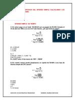 Matematicas Financieras Descuento Simple