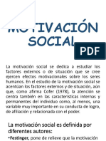 Diapositivas de Motivacion Social