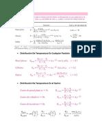 Formulario de Transferencia de Calor