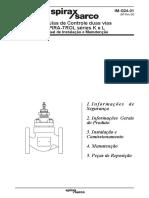 Válvulas de Controle Duas Vias SPIRA-TROL Séries K e L