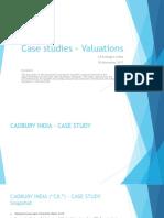 Case Studies Valuations WIRC 18Nov2017 1