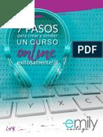 7 Pasos Para Crear y Vender Un Curso Online Exitosamente