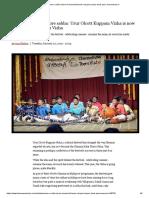 Chennai Kalai Theru Vizha_urur Olcott Kuppam Vizha