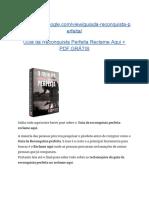 Guia da Reconquista Perfeita Reclame Aqui + PDF GRÁTIS
