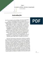 Texto 1 - Libâneo - Educação Escolar - Políticas, Estrutura e Organização
