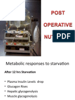 Post Operative Nutrition Basic