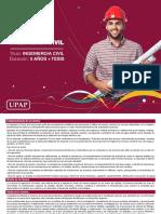 Upap Carrera de Grado Presencial Ingeniería Civil Brochure