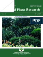 Volume 6, Issue 1 (2019) Tropical Plant Research