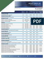 Autodesk Pricelist