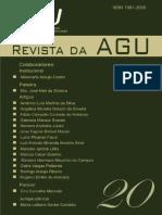 Revista Da Agu n20