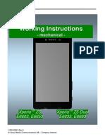 Xperia sony z5 e6603 working instructions