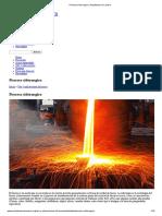 Proceso Siderurgico _ Arquitectura en Acero Extraccion Del Mineral Del Laminado