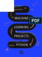 Machine Learning Projects Python