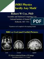 Basic MRI Physics