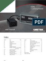 502645 Od5 Mk II User Manual